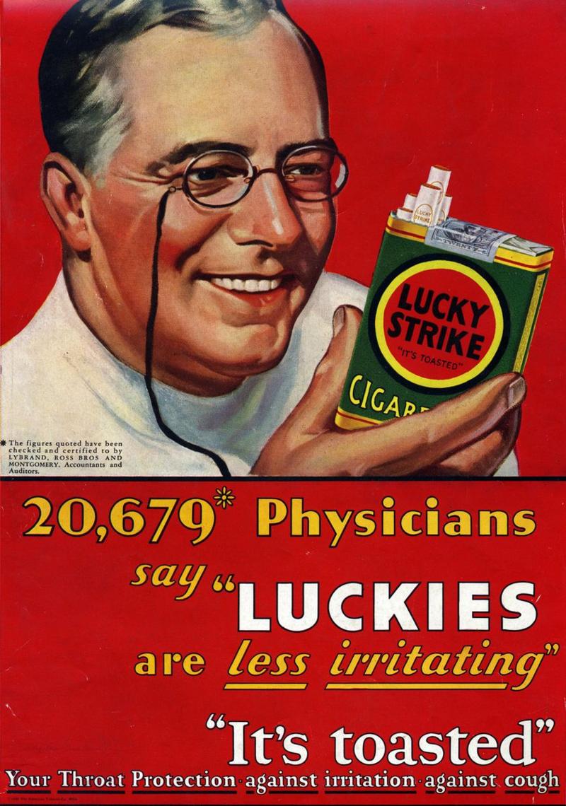 Behavioural Economics, Cigarette advertising